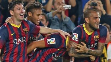 Vuelve la fiesta del Barcelona con Leo Messi