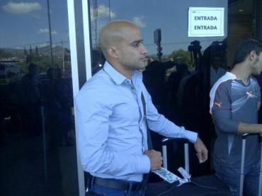 Omar Guerra nuevo fichaje de Olimpia llego a Honduras