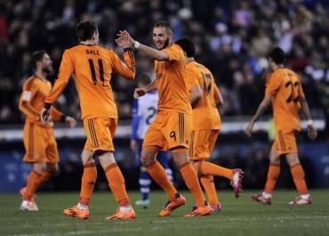 Benzema y Casillas ponen al Madrid camino de semifinales
