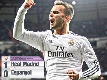 El Madrid pasa a semifinales de la Copa del Rey sin problemas
