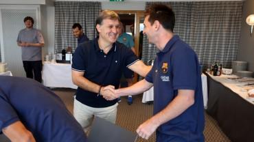 "Martino: ""Messi está muy bien, le veo con mirada asesina"""