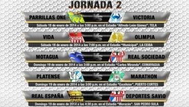 Segunda jornada de la Liga Nacional estará al Rojo Vivo