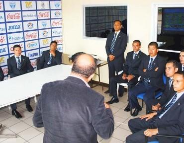 Honduras tiene sus árbitros FIFA