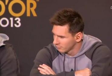"""Messi: """"Estar aquí por séptimo año ya es un premio"""""""