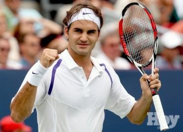 Federer y Tsonga avanzan