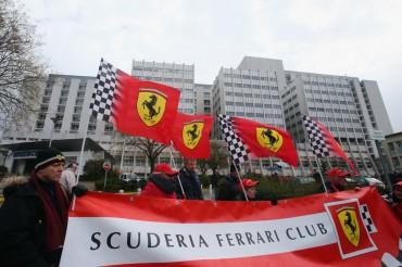 Familiares y amigos acompañan a Schumacher en su 45 cumpleaños