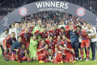 El Bayern, mejor club de 2013