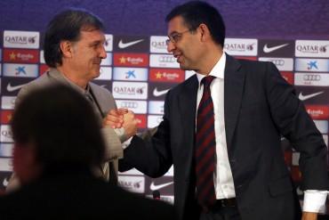 Bartomeu renovará a Martino hasta 2016