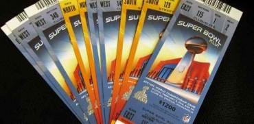 El negocio de las entradas en el Super Bowl