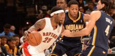 Raptors superan a Pacers