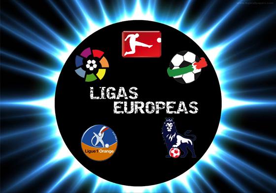 Jornada de fin de semana de las Ligas Europeas