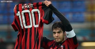 Kaká guía la victoria del Milan con su gol número 100 con el 'Diavolo'