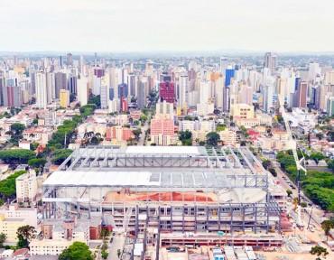 La ciudad Curitiba puede quedarse sin fútbol mundialista