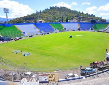 El Estadio Nacional, lo dejarán pulidito para el clásico Olimpia-Motagua