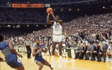 Superdome: el templo de Dean Smith y Michael Jordan en 1982