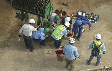 Muere un obrero en el estadio mundialista de Manaos