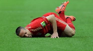Ribéry se pierde la ida de los octavos de Champions