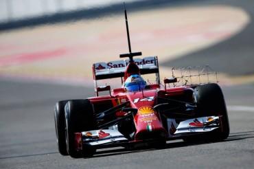 Alonso acaba segundo en el primer día de test en Bahrain