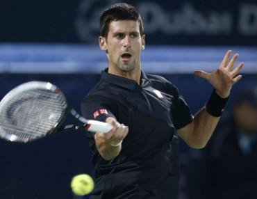 Federer y Djokovic se citan por un puesto en la final de Dubai