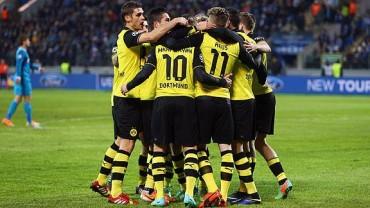 El Borussia Dortmund dio un repaso al Zenit