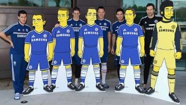 Chelsea: Caricaturizan a Terry, Lampard, Torres, Hazard y Cech
