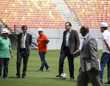 Secretario de FIFA: Estadio de Manaos está fantástico