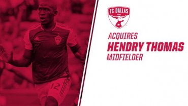 Hendry Thomas es el  nuevo fichaje del F.C Dallas de la MLS