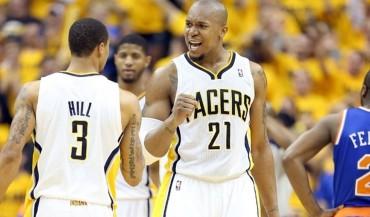 West y los Pacers se entrenaron ante a unos diezmados Nuggets