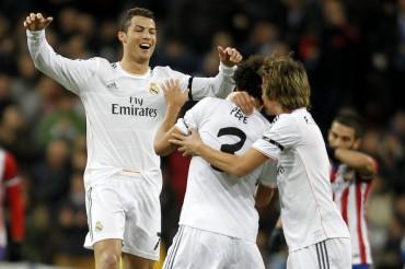 Real Madrid borra al Atlético de Madrid y acaricia la final 
