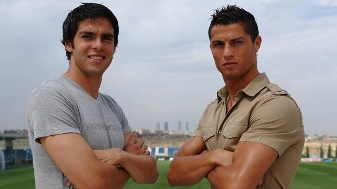 """Kaká: """"Cristiano es el mejor futbolista con el que he jugado"""""""