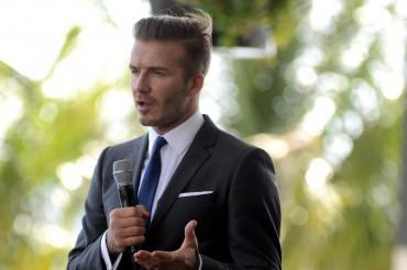 """Beckham promete fichar a los """"mejores"""" para su equipo de la MLS en Miami"""