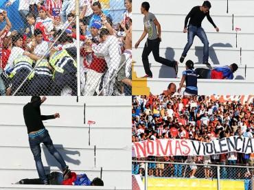 Prometen frenar la violencia en los estadios