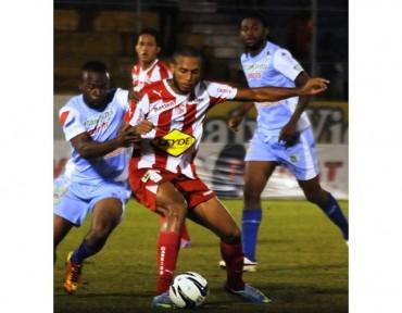 Eddie Hernández celebrará si le marca al Motagua