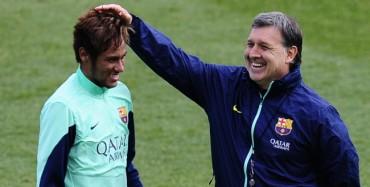 """Martino: """"No es normal lo que está pasando con Neymar"""""""