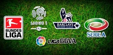 Jornadas de las diferentes Ligas Europeas de este fin de semana
