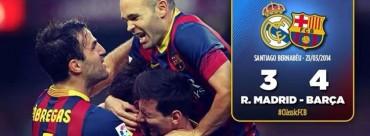 Messi toma el Bernabéu