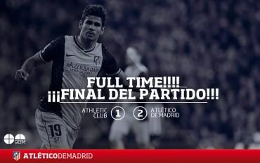 Atlético de Madrid no afloja la punta
