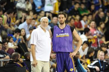 """Phil Jackson: """"No sé si Pau querrá renovar con los Lakers"""""""