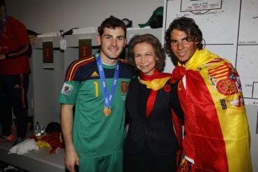 Rafa Nadal e Iker Casillas se retan en el Mutua Madrid Open