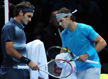 Federer reconoce más cercanía con Nadal que con Djokovic