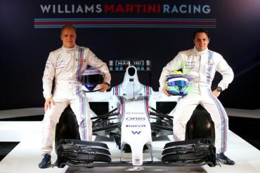 Williams presenta su proyecto con los colores de Martini