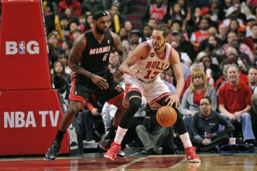 Chicago se aprovecha de otro mal día de LeBron James
