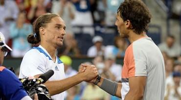 Dolgopolov elimina a Rafa Nadal, que cede 955 puntos