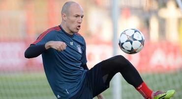 """Robben: """"Mourinho y Guardiola son los mejores del mundo tácticamente"""""""