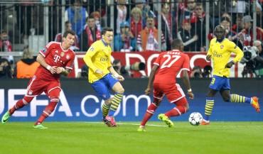 El Bayern se lo toma con calma ante el Arsenal