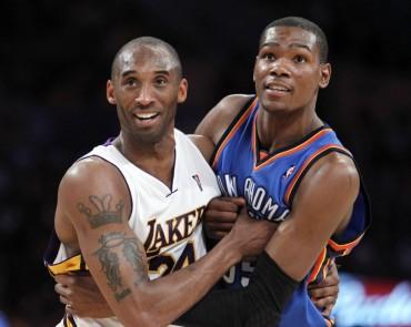 """Kevin Durant: """"Kobe Bryant es el mejor de la historia"""""""