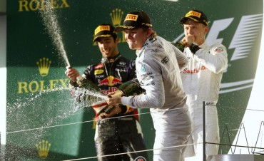 Ganó Rosberg y Alonso, cuarto tras ser descalificado Ricciardo