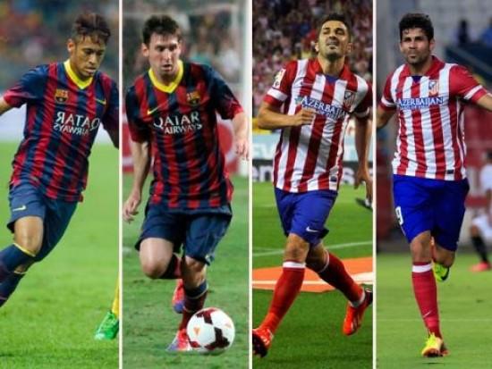 Barça-Atlético, duelo inédito en Champions