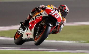 Ni el mejor Rossi puede con el fantástico Marc Márquez