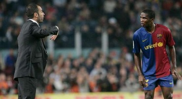 """Eto'o: """"Guardiola no fue un gran jugador"""""""